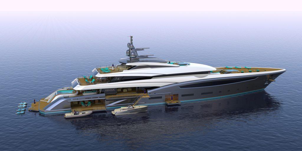 AQUILA 75M yacht