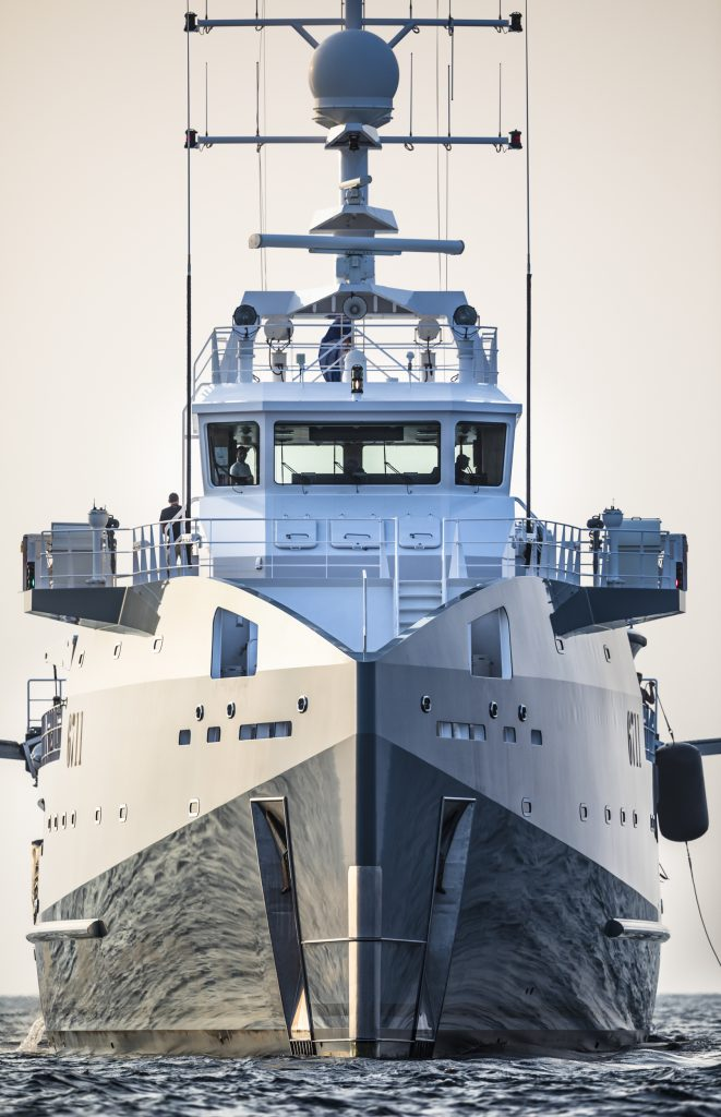 Fast Support Vessel 6711 yacht