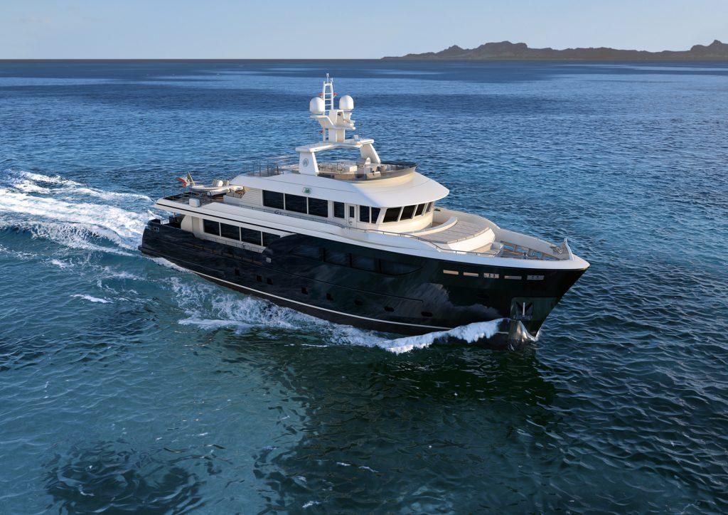 Darwin Class 107 yacht Brochure