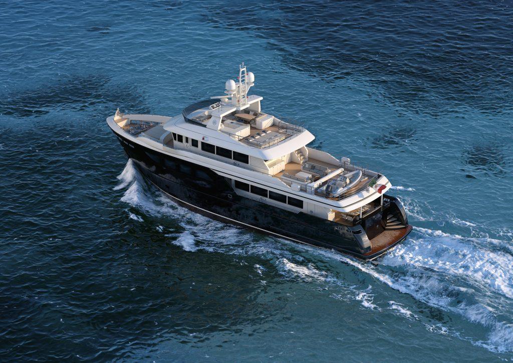 Darwin Class 107 yacht