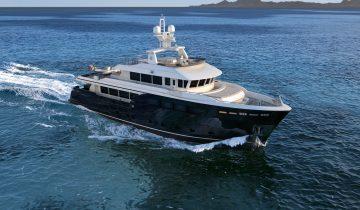 Darwin Class 112 yacht
