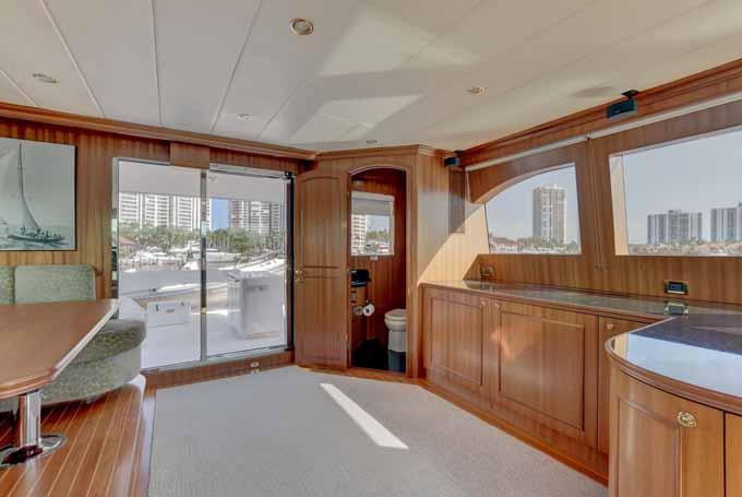 HELMS AWAY yacht