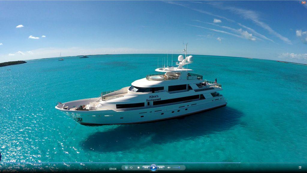 ALICE'S RESTAURANT yacht Brochure