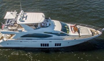 2017 Azimut 84 FLY SATISFACTION yacht