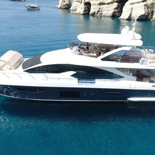 Skye yacht sale interior tour