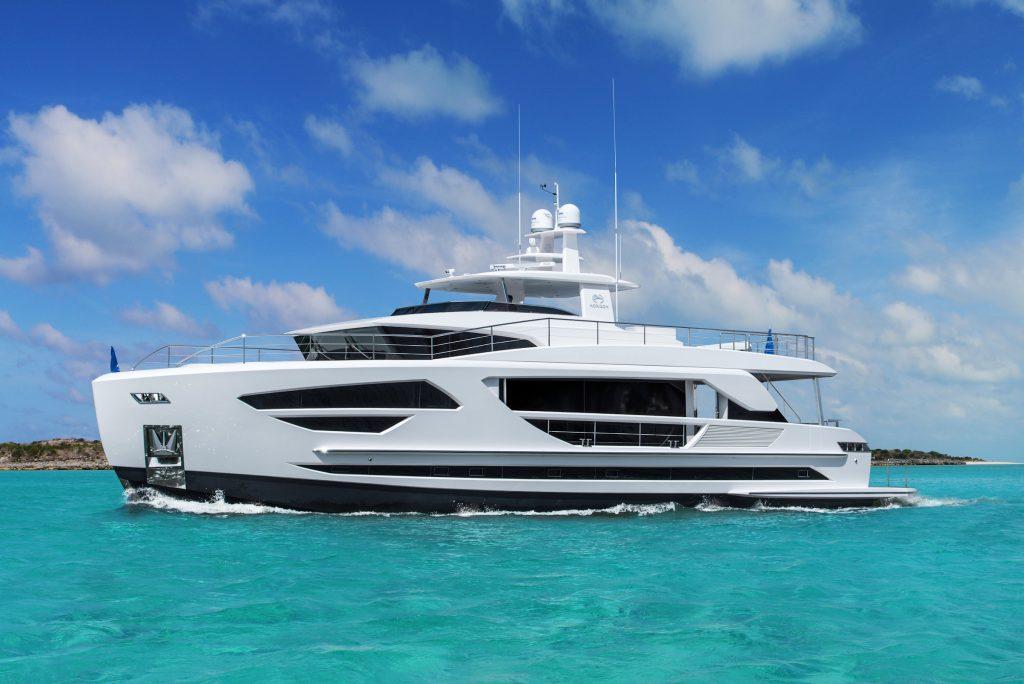 Horizon FD85 yacht Brochure