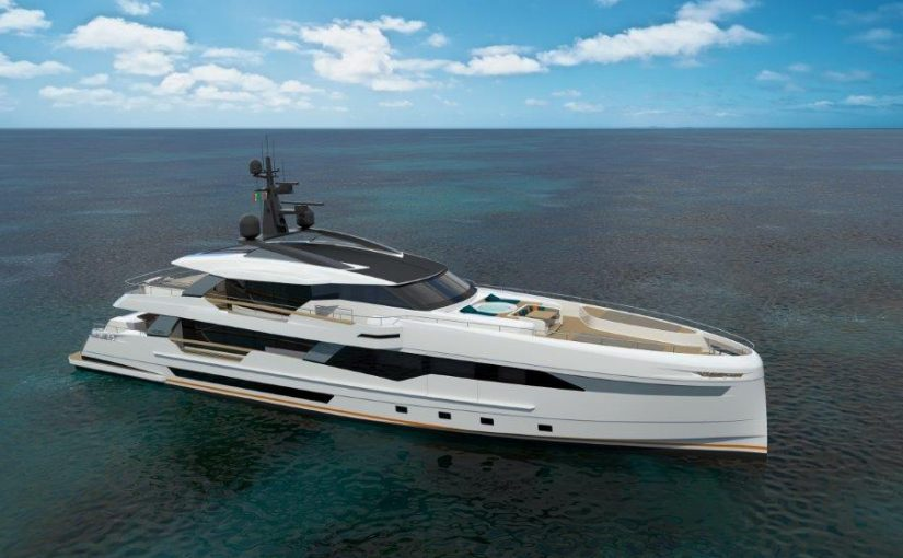 WIDER 130 yacht For Sale