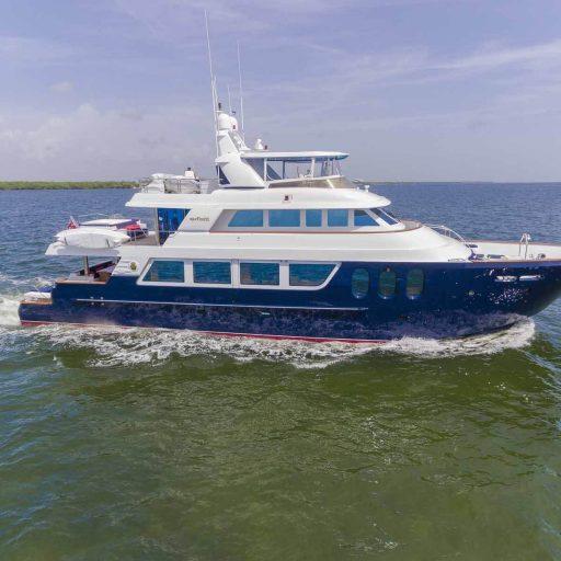 MISS SHUGA Yacht Position