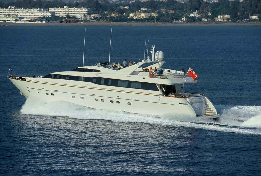 Aquarius S yacht Brochure