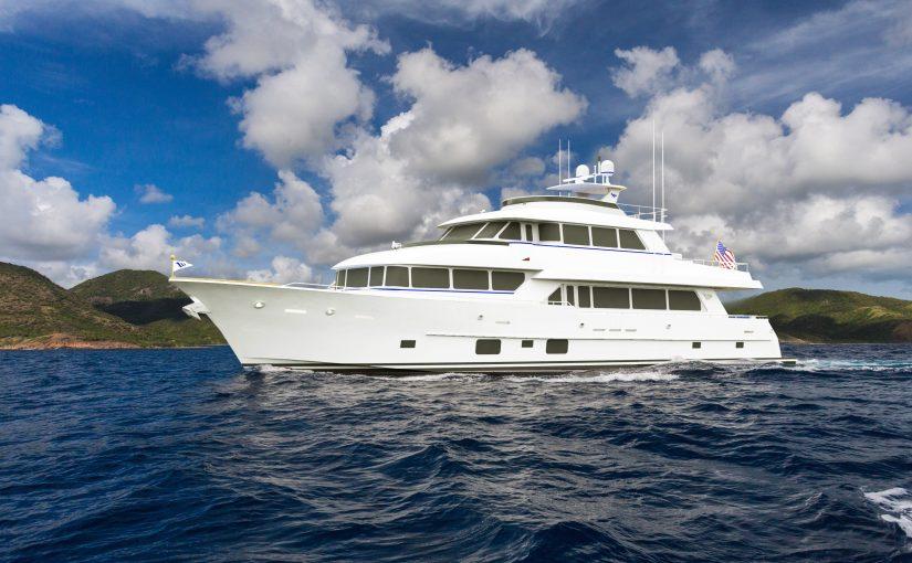 108 PARAGON TRI-DECK yacht For Sale
