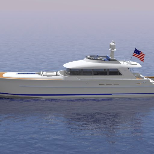 94′ PARAGON OYSTER BAY EXPRESS specs with detailed specification and builder summary