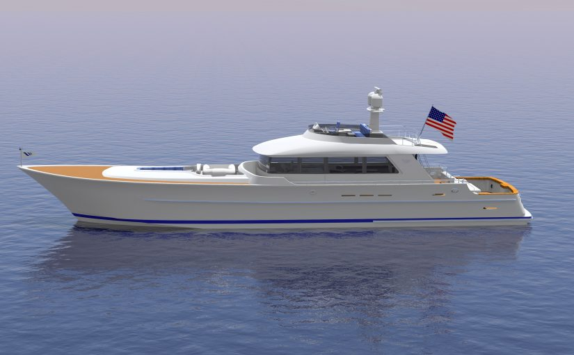 94′ PARAGON OYSTER BAY EXPRESS yacht For Sale