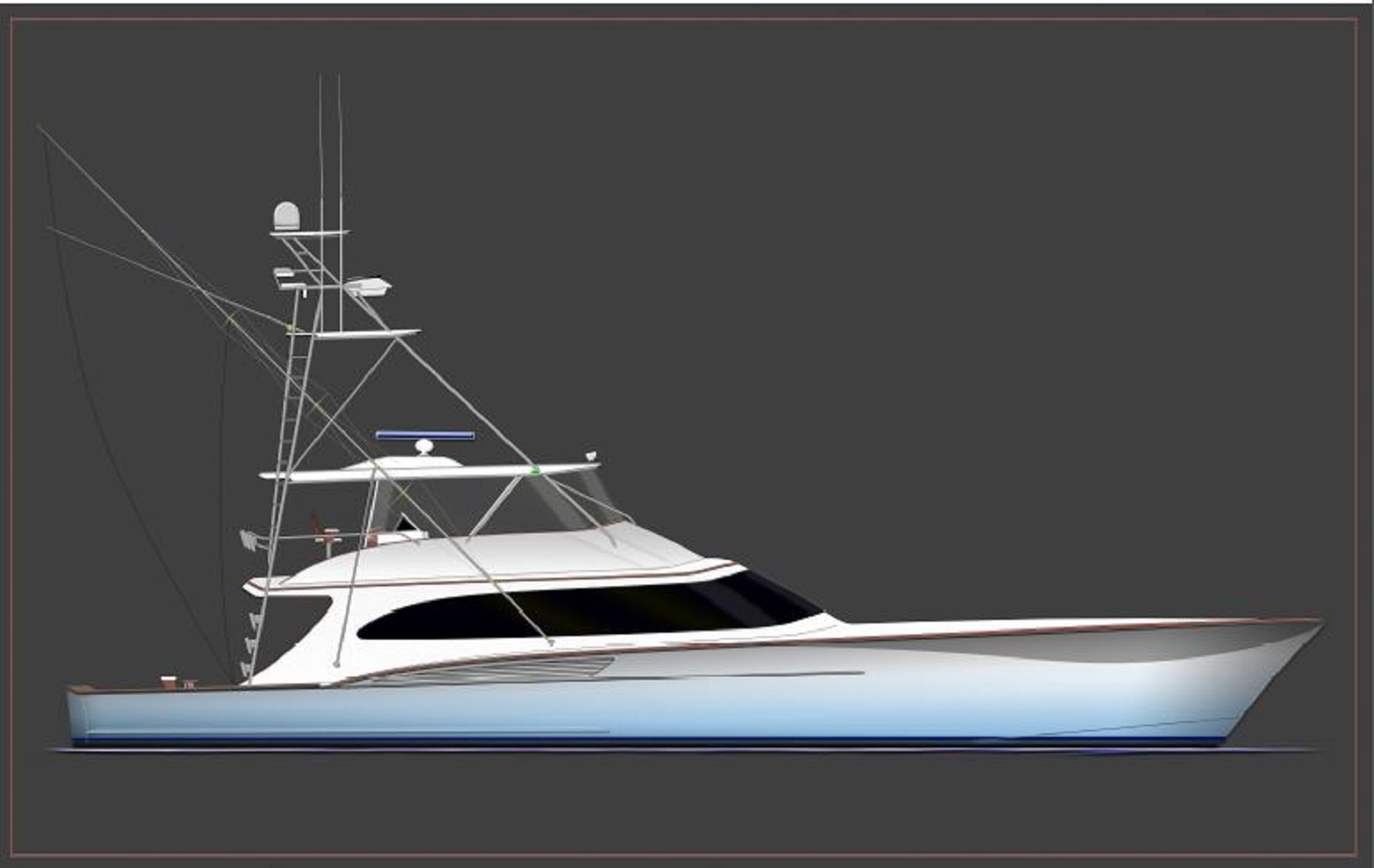 Hull # 60 specs with detailed specification and builder summary