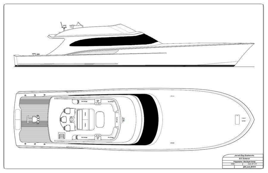 Hull # 60 yacht