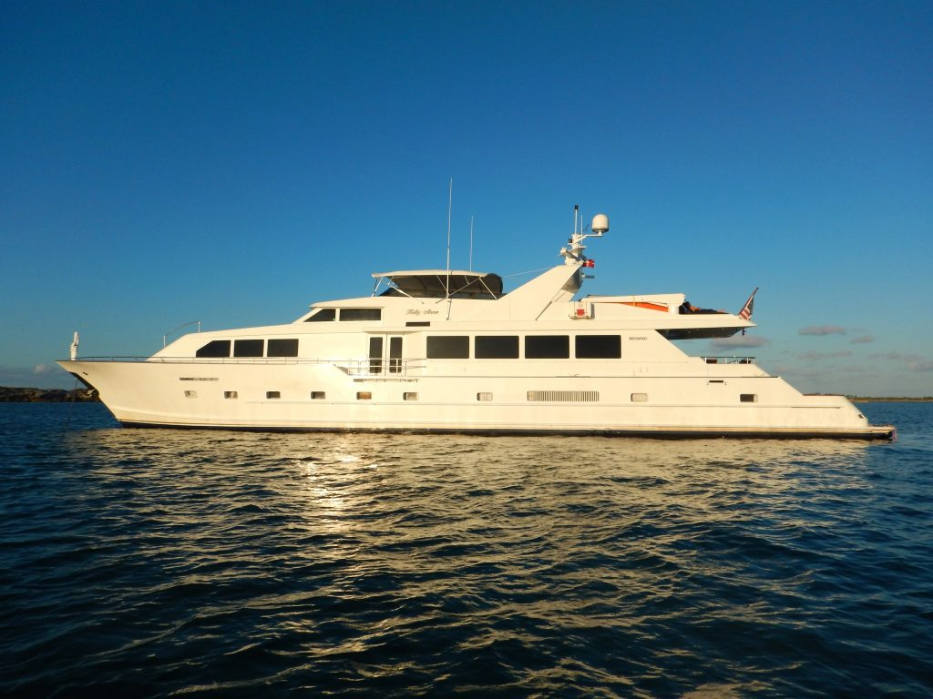 Broward 110 yacht Brochure