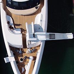 yacht water slide