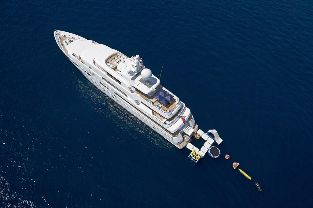 charter a yacht for a