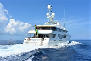 NITA K II 171 Amels superyacht for sale with Merle Wood & Associates