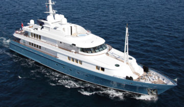 Amore Mio 2 Abeking & Rasmussen luxury superyacht for sale with Merle Wood & Associates