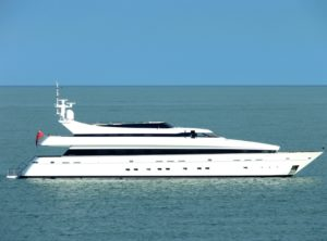 Element 140-foot Cantieri di Pisa luxury superyacht for sale with Merle Wood & Associates
