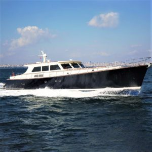 Essence of Cayman yacht for charter with Merle Wood & Associates