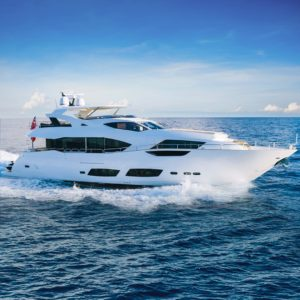 PERSEVERANCE 3 Sunseeker yacht for charter Merle Wood & Associates