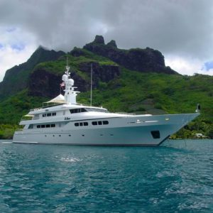Te Manu 162-foot Codecasa luxury yacht for sale with Merle Wood & Associates