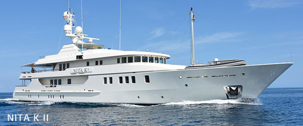 luxury yacht for sale nita k II