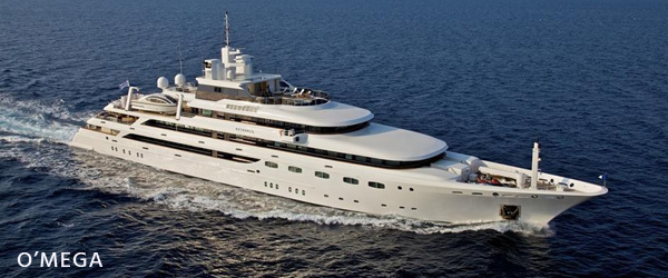 o'mega luxury yachts for sale