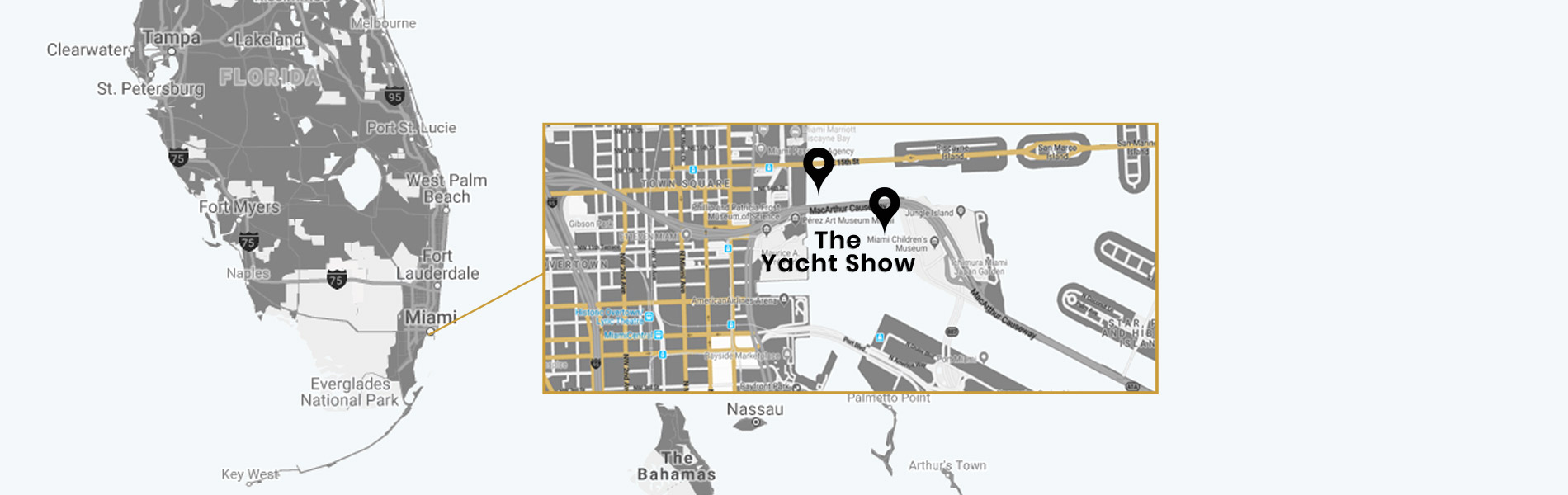 miami international yacht show 2019 downtown miami and watson