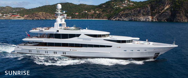 luxury yachts for sale sunrise