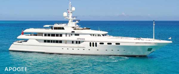 apogee yacht for charter
