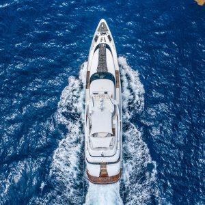 ARTHUR'S WAY 118-foot Millenium luxury superyacht for sale with Merle Wood & Associates