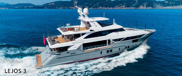 Lejos 3 yacht for sale