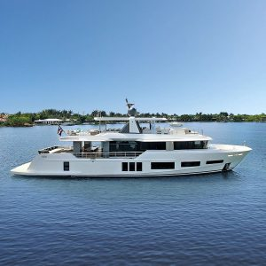 ANDREIKA 105-foot Alpha superyacht for sale with Merle Wood & Associates