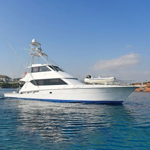AmoreMio1_70-foot Hatteras luxury sportfish yacht for sale with Merle Wood & Associates