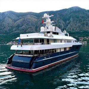 SIRONA III 185-foot luxury Oceanfast superyacht for sale with Merle Wood & Associates