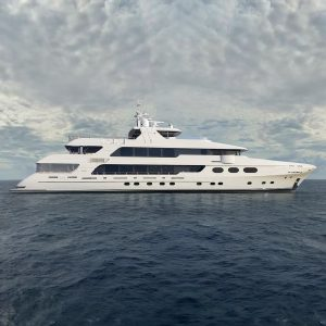CHRISTENSEN HULL 038 164-foot luxury superyacht for sale with Merle Wood & Associates