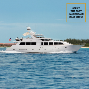 CRU 96-foot Westship luxury superyacht FLIBS Fort Lauderdale Boat Show