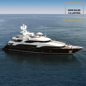 CHECKMATE 143 foot Benetti Vision luxury superyacht for sale with Merle Wood & Associates