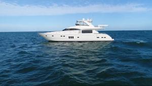 IMPOSSIBLE DREAM 75 foot Viking luxury yacht Merle Wood & Associates video