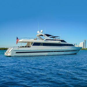 PLATINUM PRINCESS 105 foot Heesen luxury yacht profile