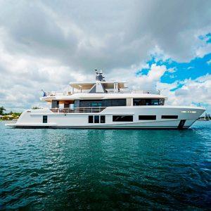 ANDREIKA 106-foot Alpha custom luxury superyacht for sale with Merle Wood & Associates