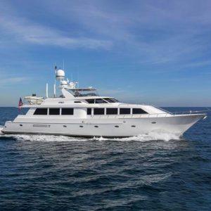 CRU 96-foot Westship luxury yacht for sale with Merle Wood & Associates