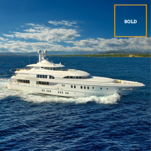 HUNTRESS 247-foot Lurssen luxury superyacht SOLD by Merle Wood & Associates
