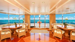 TE MANU 162-foot Codecasa luxury superyacht for sale with Merle Wood & Associates