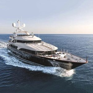 CHECKMATE Benetti 145-foot luxury superyacht for sale with Merle Wood & Associates