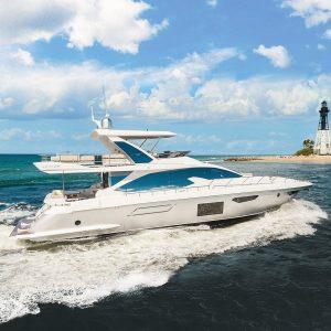 ELYSIUM III Azimut luxury yacht profile