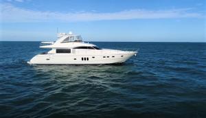 IMPOSSIBLE DREAM 75 Princess Viking luxury yacht