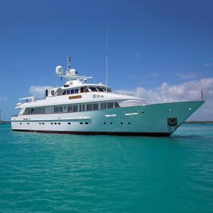 LADY VICTORIA Feadship 120-foot luxury yacht for sale and charter with Merle Wood & Associates